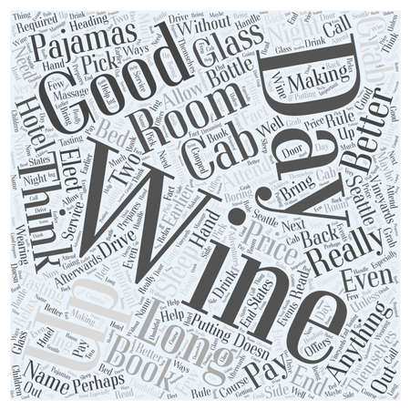 Seattle Vineyards are making a Name for Themselves word cloud concept