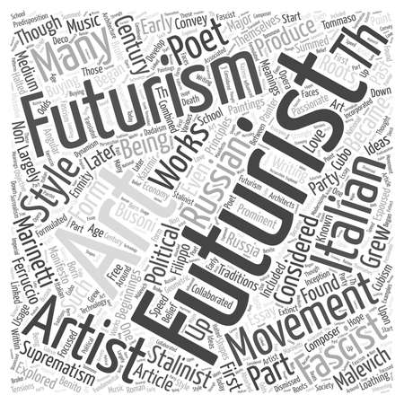 futurist: buying paintings futurism Illustration