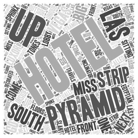 vegas strip: South Strip of Las Vegas word cloud concept Illustration