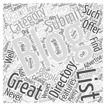 venues: Blogging Directories Great Advertising Venues