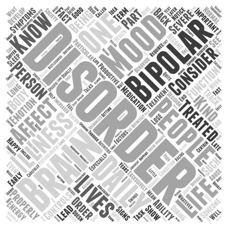 bipolar disorder Illustration