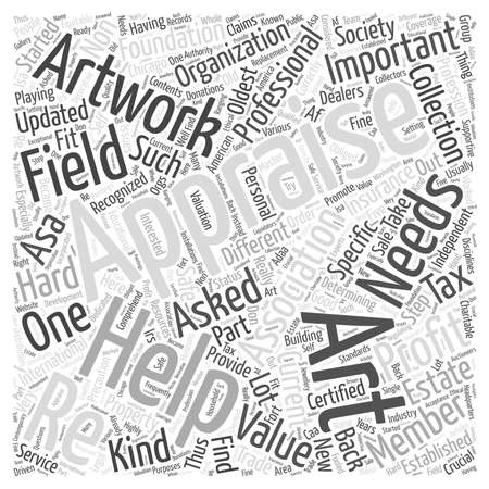 Playing It Safe With Appraisals word cloud concept
