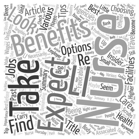 Nursing Jobs Insider Tips On Choosing The Best Employer word cloud concept