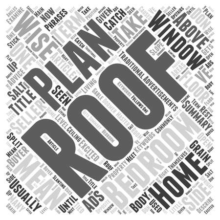 Meaning of Catch Phrases in Ads For Homes word cloud concept