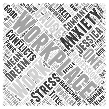 workplace harassment: Los conflictos en el concepto de nube de palabras de lugar de trabajo