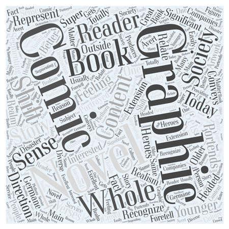 漫画本およびグラフィック小説の単語雲の概念 写真素材 - 67300001