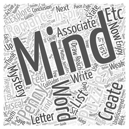 owning: Creating Your Own Mind Puzzles word cloud concept