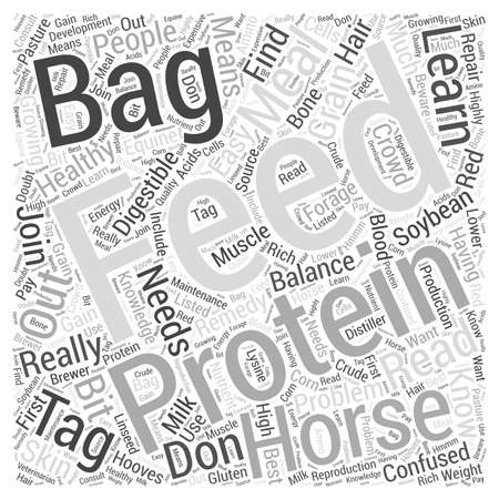 Read The Feed Bag Tag word cloud concept