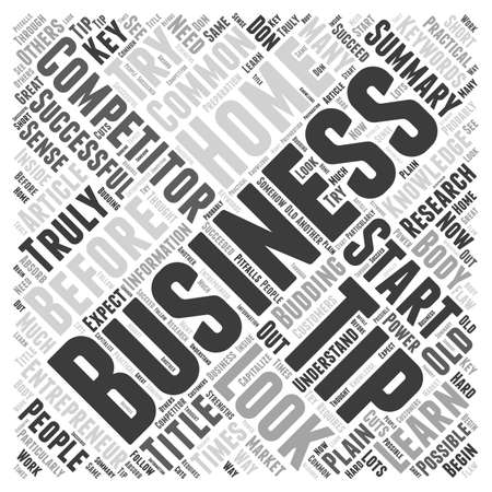 budding: Home Business Tips for the Budding Entrepreneur word cloud concept