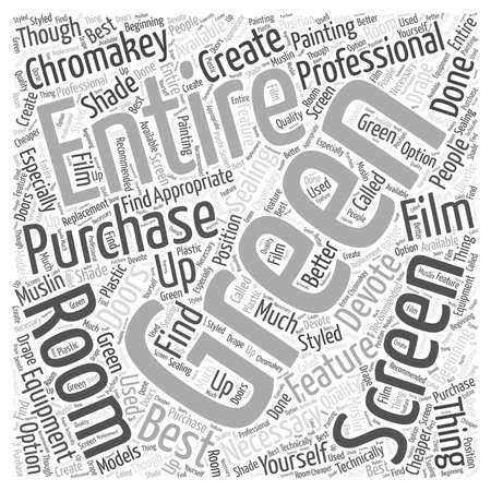 Is Professional Equipment Necessary to Create a Feature Film word cloud concept Illustration