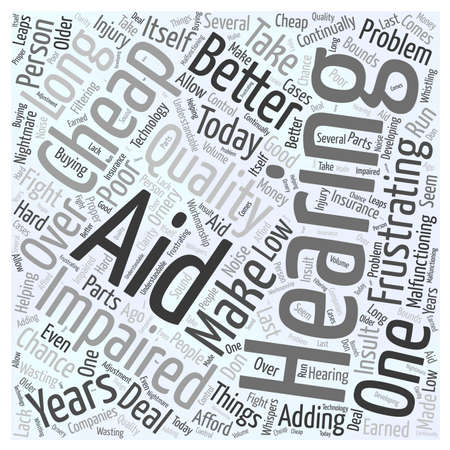 understandable: Would You Take a Chance on a Cheap Hearing Aid word cloud concept