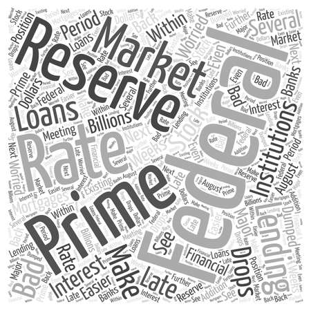 Whats the worry about bad mortgages word cloud concept