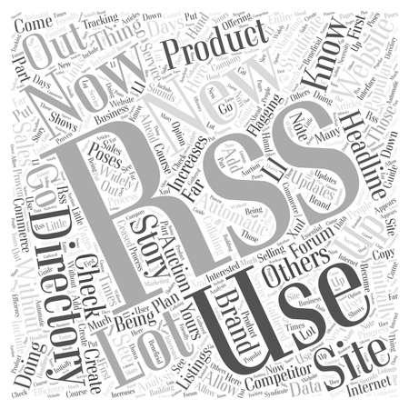listings: JP rss directory word cloud concept