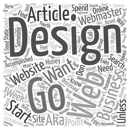 How to find a Website Designer word cloud concept