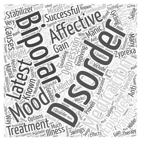 episodes: latest medication for bipolar affective disorder word cloud concept