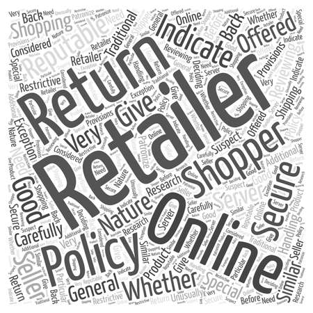 Is Online Shopping Secure word cloud concept