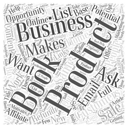 How To Get Potential Customers To Do Business With You word cloud concept