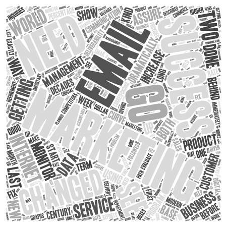 Monitoring Email Deliverability word cloud concept