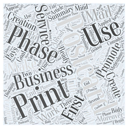 How to Make Promotional Postcards Work word cloud concept