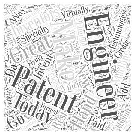 wright: Engineers Make Great Inventors word cloud concept