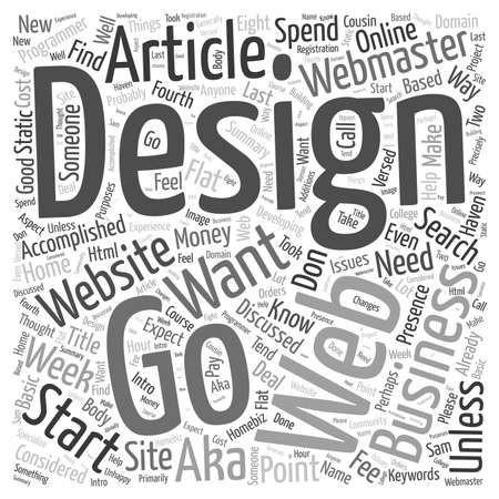 How to find a Website Designer word cloud concept