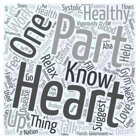 left ventricle: H E A R T word cloud concept