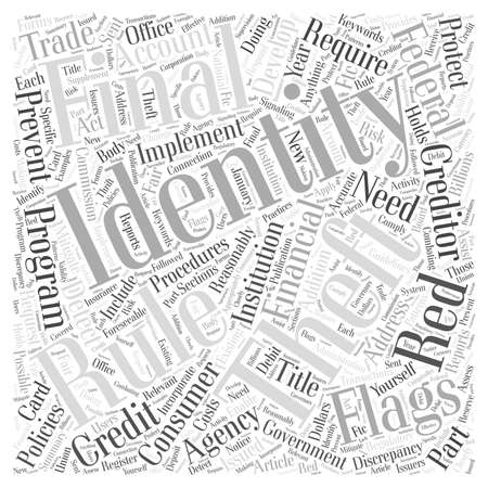 Is The Government Doing Anything To Protect You From Identity Theft word cloud concept