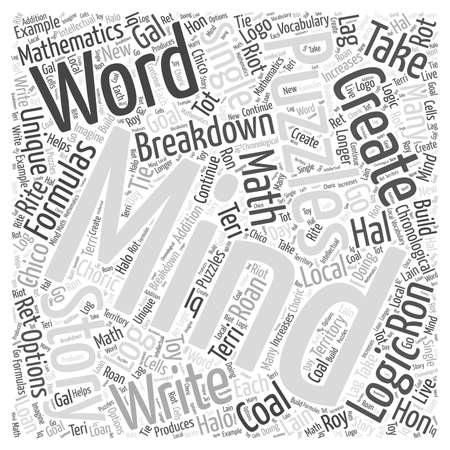 Mindpuzzlesthestorieswecreate woord cloud concept