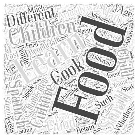 valuable: Is it good for small children to learn Spanish word cloud concept