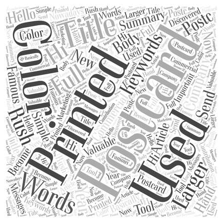 Larger than Words word cloud concept 向量圖像