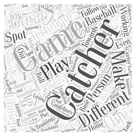 spot the difference: Techniques for the Catcher word cloud concept