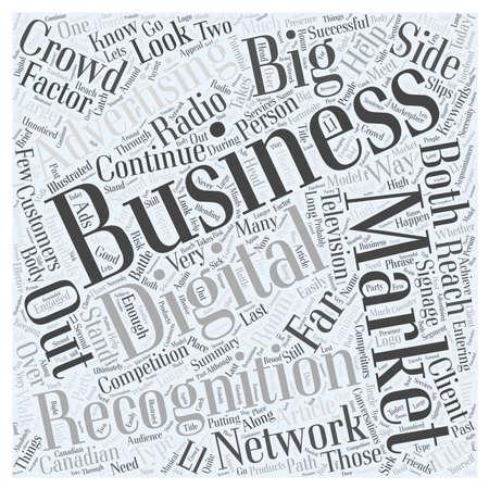 귀하의 비즈니스 단어 구름 개념 마케팅을 위해 큰 R 무엇인가 일러스트