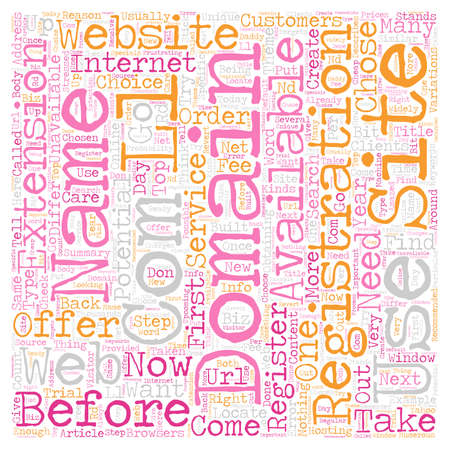 obtaining: Your Own Com text background wordcloud concept