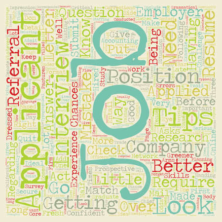 greener: your job is to find a job dlvy nicheblower com text background wordcloud concept