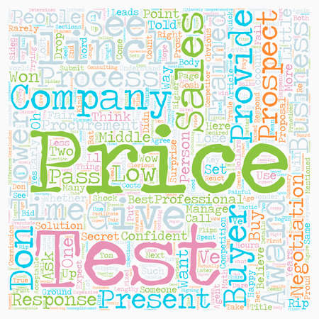 will: Will You Pass the Flinch Test text background wordcloud concept
