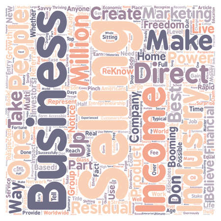 based: You Can Successfully Reach Financial Freedom With A Home Based Business text background wordcloud concept