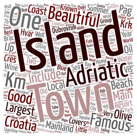 charter: Yacht Charter in Croatia text background wordcloud concept Illustration