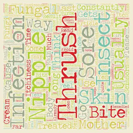 pezones: ¿Por qué se puede t Tordo Apenas repuesto El texto concepto de fondo wordcloud pezones Vectores