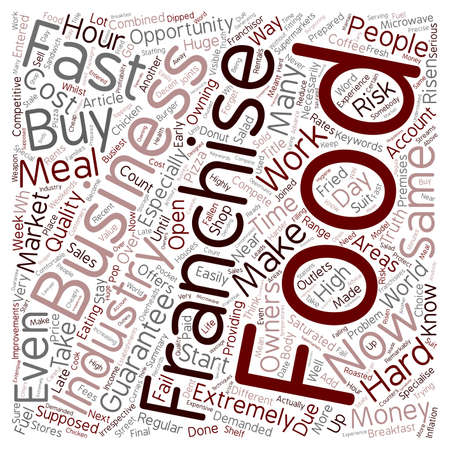 make summary: Why Do Some Franchise Owners Fail text background wordcloud concept Illustration