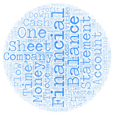statements: Why Financial Statements Are Important A Beginner s Guide text background wordcloud concept