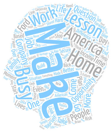 make summary: What A Difference A Day Makes in Corporate America text background wordcloud concept Illustration