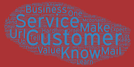 golden rule: The Golden Rules Of Customer Service text background wordcloud concept