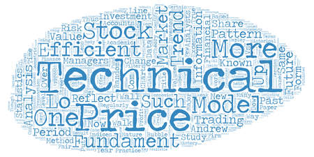 vs: The Friendly Trend Technical vs Fundamental Analysis text background wordcloud concept