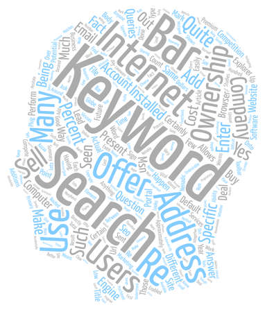 keyword: The Present and the Future of Keyword Ownership text background wordcloud concept