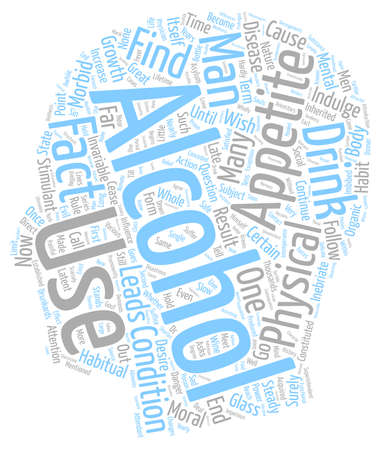 THE GROWTH AND POWER OF APPETITE text background wordcloud concept Illustration