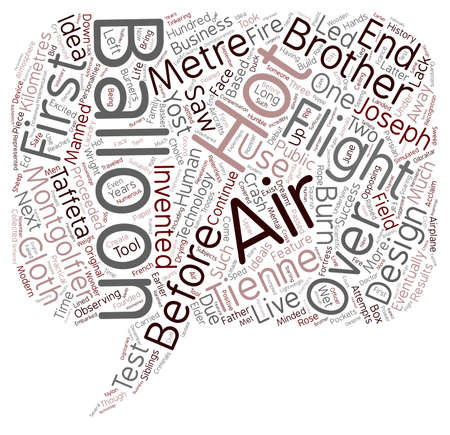 wright: The History of the Hot text background wordcloud concept Illustration