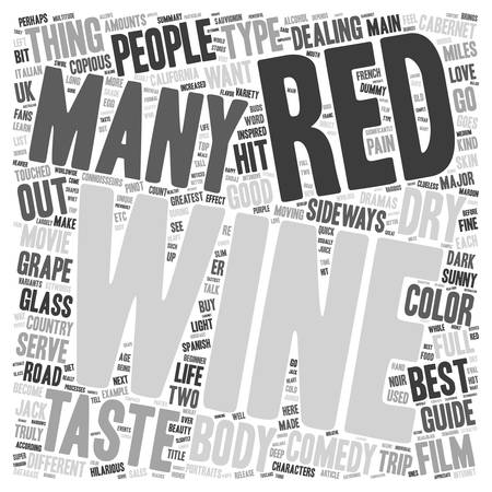wine road: The Beauty Of Red Wine A Beginner s Guide text background wordcloud concept