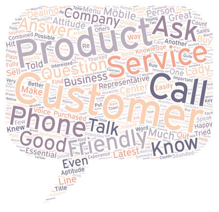disposition: The Double A s In Customer Service text background wordcloud concept