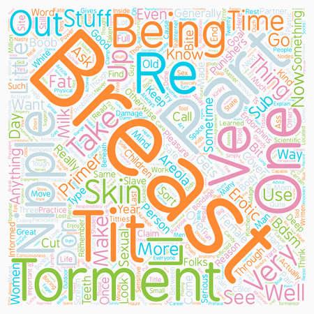 The Breast Punishment Primer Part 1 text background wordcloud concept