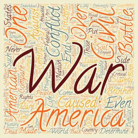 civil war: The Civil War 1 text background wordcloud concept